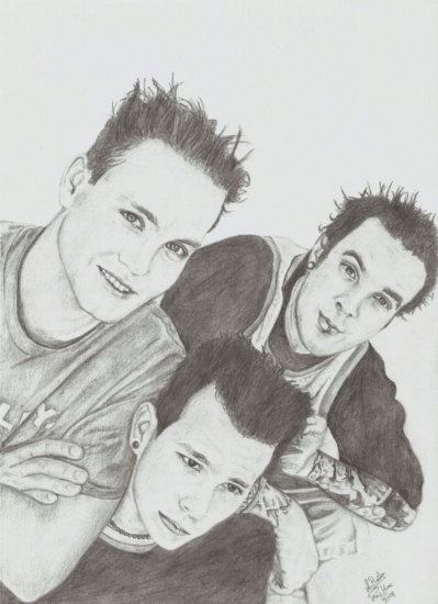 Blink-182 par My-Pencil